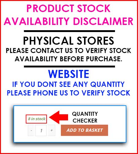 PRODUCT AVAILABILITY DISCLAIMER